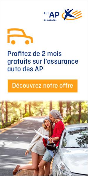 Assurance auto les AP :  2 mois d'assurance gratuit