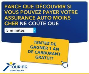 Concours Touring Assurances