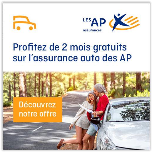 Assurance Auto AP: 2 mois gratuits