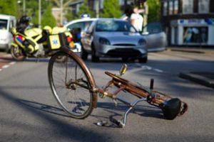 Après un accident avec un vélo