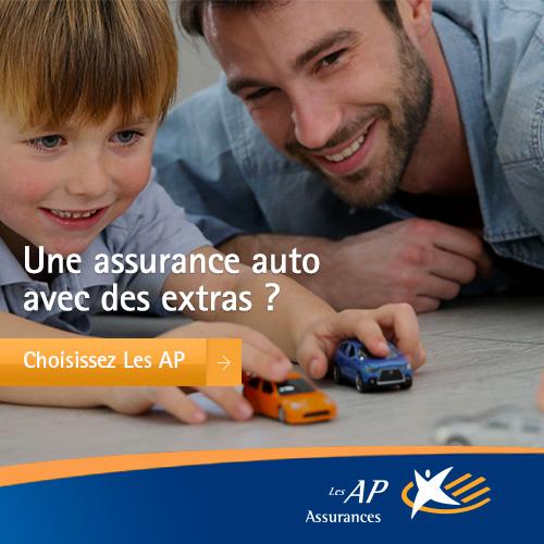 Assurance auto aux AP